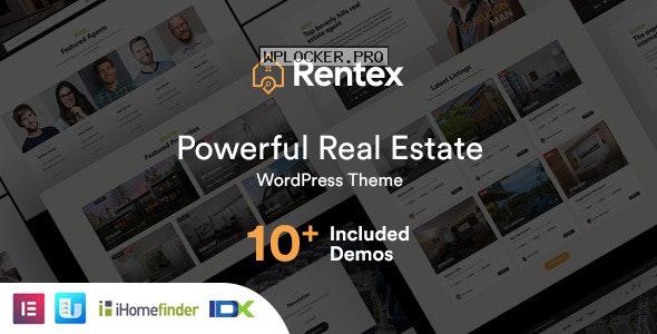 Rentex v1.6.3 – Real Estate WordPress Theme