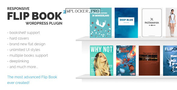 Responsive FlipBook WordPress Plugin v2.5.0