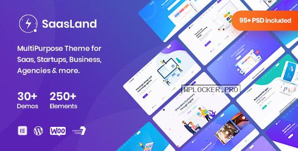 SaasLand v3.2.8 – MultiPurpose Theme for Saas & Startup