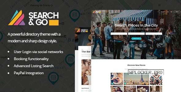 Search & Go v2.5 – Modern & Smart Directory Theme