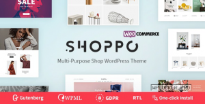 Shoppo v1.0.3 – Multipurpose WooCommerce Shop Theme