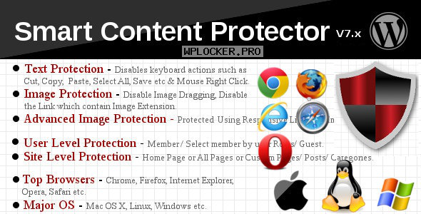 Smart Content Protector v8.2 – Pro WP Copy Protection