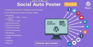 Social Auto Poster v4.0.2 – WordPress Plugin