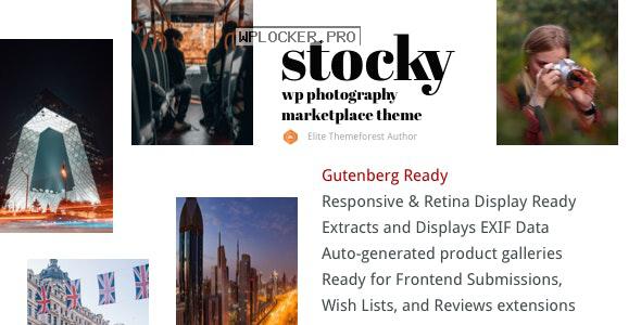 Stocky v2.0 – A Stock Photography Marketplace Theme