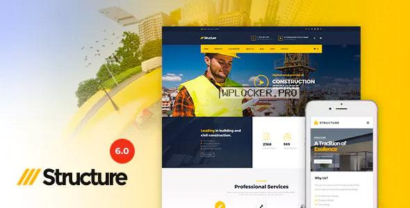 Structure v6.9.6 – Construction WordPress Theme