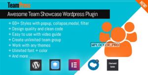 TeamPress v1.4.4 – Team Showcase plugin
