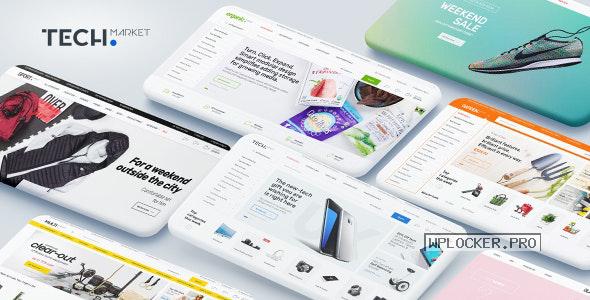 Techmarket v1.4.8 – Multi-demo & Electronics Store Theme