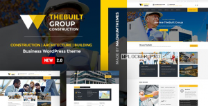 TheBuilt v2.2.2 – Construction and Architecture WordPress theme