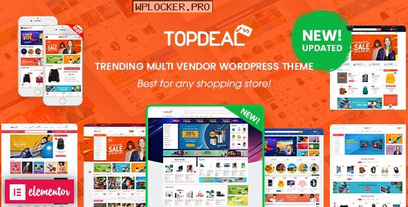 TopDeal v1.9.2 – Multipurpose Marketplace WordPress Theme