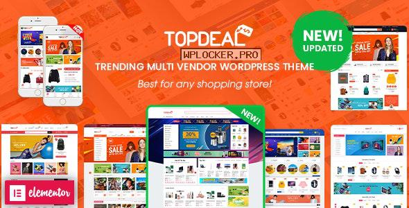 TopDeal v1.9.5 – Multipurpose Marketplace WordPress Theme