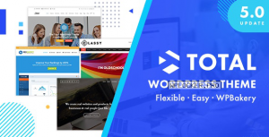 Total v5.0.7 – Responsive Multi-Purpose WordPress Theme