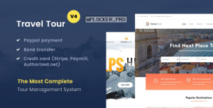 Travel Tour v4.2.4 – Tour Booking, Travel Booking Theme