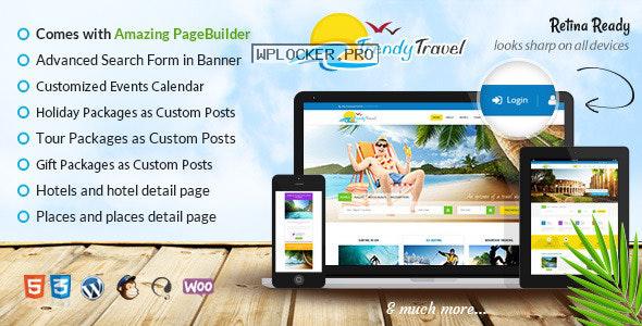 Trendy Travel v5.0 – Multipurpose Tour Package WP Theme