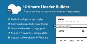 Ultimate Header Builder v1.6.5 – Addon WPBakery Page Builder