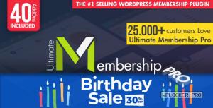 Ultimate Membership Pro WordPress Plugin v9.4