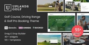 Uplands v1.4.4 – Golf Course WordPress Theme