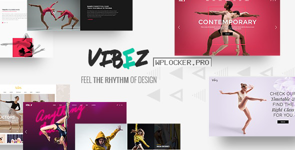 Vibez v1.8.1 – Dynamic Theme for Dance Studios and Instructors