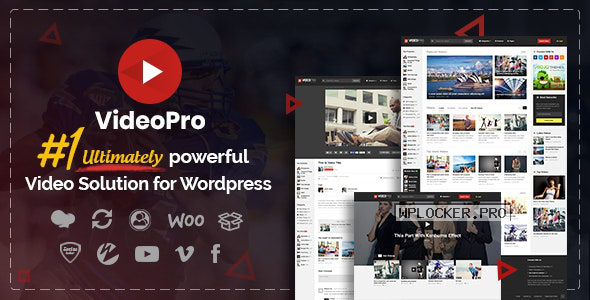 VideoPro v2.3.7.2 – Video WordPress Theme