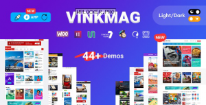 Vinkmag v3.1 – Multi-concept Creative Newspaper
