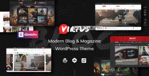 Virtus v1.1.2 – Modern Blog & Magazine WordPress Theme
