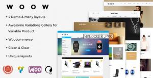 WOOW v1.1.56 – Responsive WooCommerce Theme
