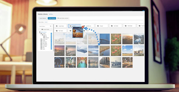 WP Media Folder v5.3.9 – Folders in Your WordPress Media Library