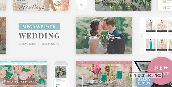 Wedding Industry v4.6 – Wedding Multipurpose Couple WP