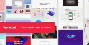 Werkstatt v4.6.2.1 – Creative Portfolio Theme