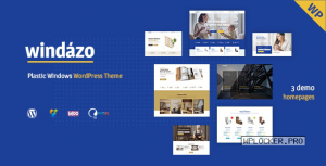 Windazo v1.2.2 – Plastic Windows and Doors WordPress Theme