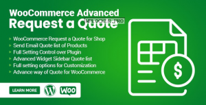 WooCommerce Advanced Request a Quote v1.0.9