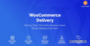 WooCommerce Delivery v1.1.9 – Delivery Date & Time Slots