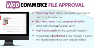 WooCommerce File Approval v1.2.7