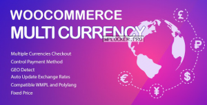 WooCommerce Multi Currency v2.1.10.2 – Currency Switcher