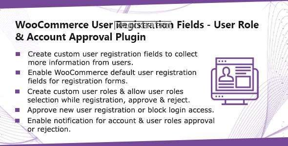 WooCommerce User Registration Plugin v1.0.7 – Custom Fields, validate login & customer roles