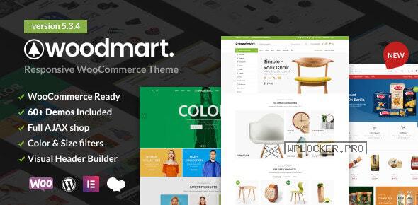 WoodMart v5.3.4 – Responsive WooCommerce WordPress Theme