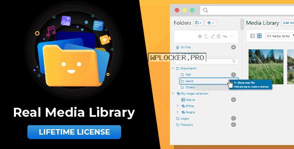 WordPress Real Media Library v4.10.1 – Folder & File Manager for WordPress Media Management