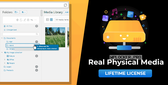 WordPress Real Physical Media v1.3.1 – Physical Media Folders & SEO Rewrites