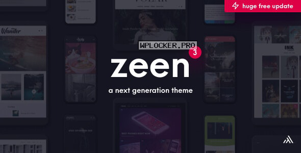 Zeen v3.9.7 – Next Generation Magazine WordPress