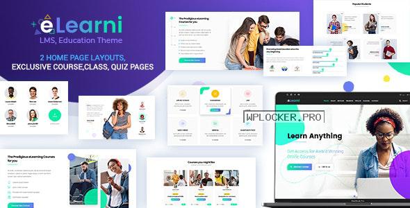 eLearni v1.9 – Online Learning & Education LMS