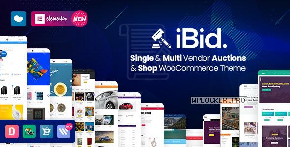 iBid v2.6 – Multi Vendor Auctions WooCommerce Theme