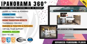 iPanorama 360° v1.6.5 – Virtual Tour Builder for WordPress