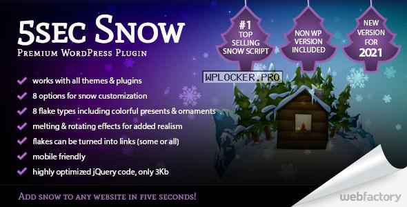 5sec Snow v1.70 – Premium Plugin