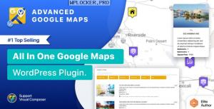 Advanced Google Maps Plugin for WordPress v5.2.8