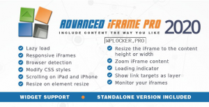 Advanced iFrame Pro v2020.10