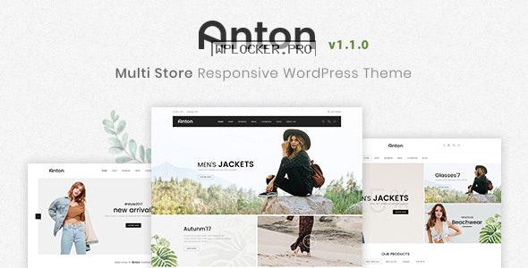 Anton v1.1.0 – Multi Store Responsive WordPress Theme