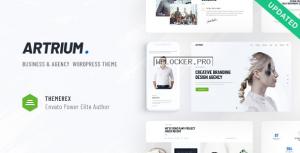 Artrium v1.0.3 – Creative Agency & Web Studio Theme