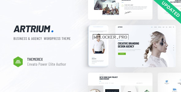 Artrium v1.0.3 – Creative Agency & Web Studio Theme