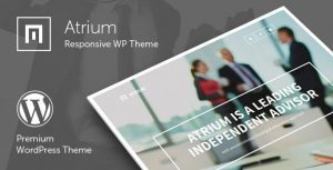 Atrium v2.6 – Responsive One Page WordPress Theme