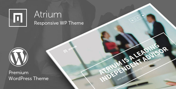 Atrium v2.6 – Responsive One Page WordPress Theme
