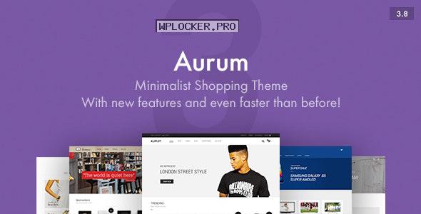 Aurum v3.8 – Minimalist Shopping Theme